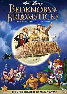 Bedknobs and Broomsticks - an unsung classic. A young Angela Lansbury. Kiddo has seen it, liked it. Kid Movies, Family Movies, Great Movies, Movie Tv, Childhood Movies, Children Movies, Plane Movies, Comedy Movies, Movie List
