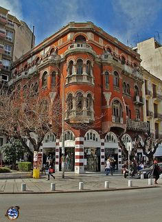The Red House. Thessaloniki, Macedonia    The red House Myth in Thessaloniki!! Το κόκκινο σπίτι...