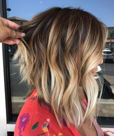 58 super hot long bob hairstyle ideas you want to cut your hair with right away . - nice 58 super hot long bob hairstyle ideas you want to cut your hair with immediately Thick Hair, Wavy Hair, New Hair, Frizzy Hair, Ombre Bob Hair, Lob Ombre, Blonde Hair Ideas For Short Hair, Hair For Fall, Long Hair To Lob