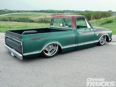 '67 Chevy C-10 with patina and a sano engine bay