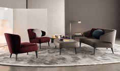 Aston by Minotti | Dining Little armchair | Sofa | Bench | ..