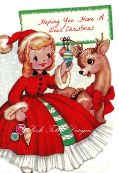 Christmas Hoping You Have A Deer Christmas by poshtottydesignz