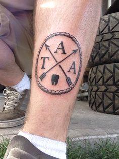 The Amity Affliction tat.