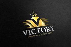 Victory V Letter Logo - Logos