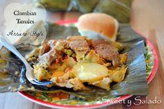 Sweet y Salado: Colombian Tamales (Arriero Style)