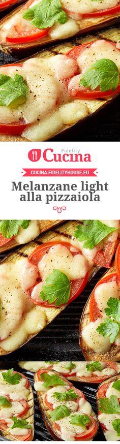 Le #melanzane light alla #pizzaiola sono un secondo piatto light, adatto anche ai #vegetariani.