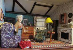 Miss Marple Miss Marple, Dollhouse Miniatures, Tv, Doll House Miniatures, Tvs, Television Set
