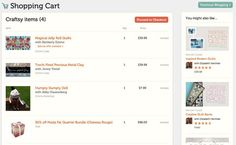 The Craftsy Shopping Cart Has Arrived! Click: http://www.craftsy.com/ext/Pin_BP_20120922
