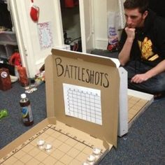 "If you want to take ""Battleshots"" to the next level, you and your friends can do it tournament style. For sweet treat ideas, tips and more for your Girls' Night Out, check out http://simplycreate.com."