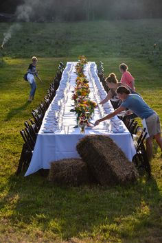 Field to table dinner with the PPA at Tangletown Gardens Farm, Minneapolis, MN - More images at Thinkingoutsidetheboxwood.com