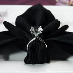 Complete your next upcoming wedding, anniversary, shower, or other special event with these silver plated diamond ring napkin holders! Each silver plated napkin holder comes resembling a diamond ring,. Diamond Wedding Rings, Diamond Rings, Diamond Engagement Rings, Diamond Party, Solitaire Ring, Diamond Wedding Theme, Diamond Theme, Diamond Life, Emerald Diamond