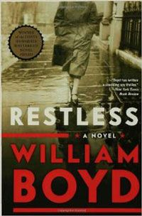 Restless by William Boyd book cover