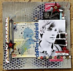 A Project by Leslie Ashe from our Scrapbooking Gallery originally submitted 04/12/11 at 03:58 PM
