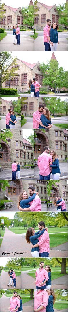 Ohio State University Engagement Photos