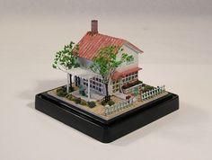2014, Casa estilo japonés. Escala 1/144  ♡ ♡ By Shu & Kiyo