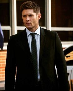 Jensen Ackles in a suit