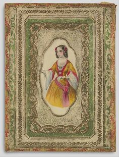 Boxed Valentine's Day Card, British 19th century.