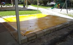 sandpit tarp and cover - Google Search