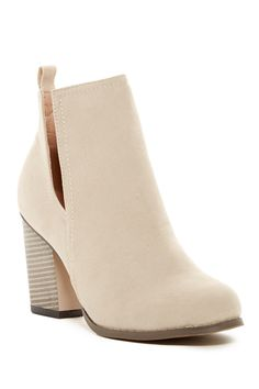 Chase & Chloe - Willy Cut-Out Bootie at Nordstrom Rack. Free Shipping on…