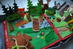quiet book page activity book felt book personalized book fabric book travel book learning book game soft book educational toy toddler book quiet book about the travel to the forest. Its so interesting to spend time in a camping in the forest! This educational page of the book allows