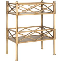 Jamese Gold Shelf ($299) ❤ liked on Polyvore featuring home, furniture, storage & shelves, bookcases, shelves bookcases, gold shelves, shelving furniture, shelf book case and book-shelves