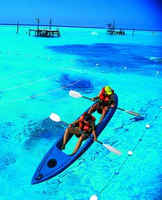 Garrafon Park in Isla Mujeres. WorldVentures takes you there at the lowest fares…