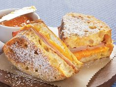 Ham 'n Cheese French Toast