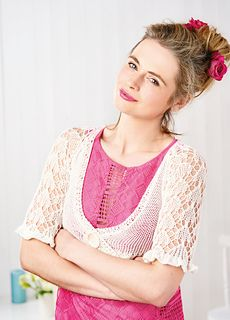 White Whisper by Sarah Menzes - Let's Knit, issue 95, August 2015