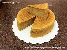 Pastel de Café Japonés | Alimentos Que Simply Irresistible