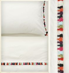Sombrero Sheet Set • Anthropologie - great for a guest bedroom