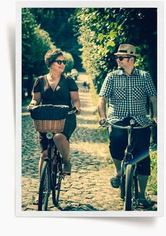 Gdańska #moda na #rower / #Gdansk #bike fashion