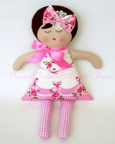 Flowers, Frills, Buttons & Bows