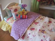 American Girl Doll Bedding  9pc Set  Comforter Dust by sashali, $32.99
