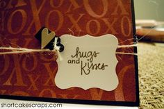 hugs and kisses greeting card ::  http://shortcakescraps.storenvy.com/products/255962-hugs-and-kisses