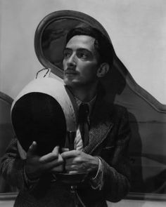 Salvador Dali Holding Fencing Equipment by Cecil Beaton Pierre Auguste Renoir, Charles Darwin, Friedrich Nietzsche, Salvador Dali Kunst, Salvador Dali Paintings, Fencing Equipment, Che Guevara, Cecil Beaton, Muse