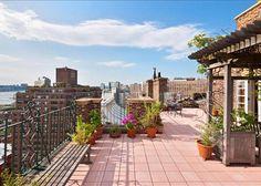 Terraza rustica New York