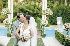 O casamento de Flávia e Fred, publicado no Euamocasamento.com. As fotos são de Rodrigo Sack. #euamocasamento #NoivasRio #Casabemcomvocê