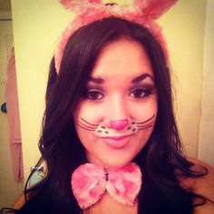 I chose this photo because this is a stylized rabbit costume I can ...