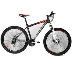 Bicicleta Aro 29 Mountain Bike GONEW Endorphine 6.3 - 24 marchas - Shimano - Alumínio - Unissex - 7899804158092