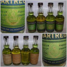 Mignonnettes de #Chartreuse, l'étiquette change le  #Vert demeure !