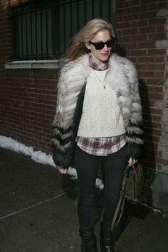Harper's Bazaar editor Joanna Hillman at Band of Outsiders (NYFW) - StyleCaster