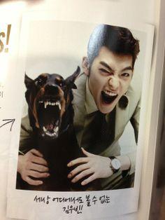 Kim woo bin with a lucky creature 😂😂😂 Korean Actresses, Asian Actors, Korean Actors, Korean Dramas, Kim Woo Bin, Lee Min Ho, Park Shin, Uncontrollably Fond, Choi Jin Hyuk