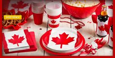canada day party supplies and more canada day party supplies