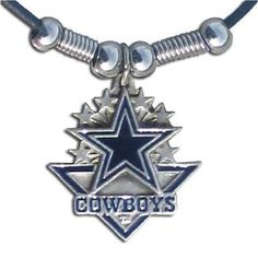 NFL Dallas Cowboys Leather Cord Necklace by Siskiyou Gifts Co, Inc. $10.20