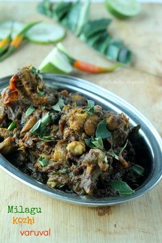 Milagu Kozhi Varuval / Pepper Chicken Fry - totally country style ~ Kitchen Secrets and Snippets