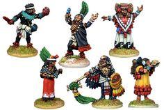 Aztec Priests celebrate Tzeentch the everchanging.                                                                                                                                                                                                                                            Over 20,000 different models!