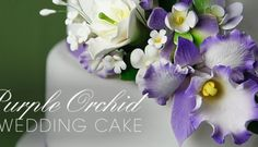 99 Amazing Navy Blue Wedding Cakes for Different Touch - VIs-Wed Purple Orchid Wedding, Navy Blue Wedding Cakes, Purple Orchids, Wedding Flowers, Indian Wedding Theme, Indian Wedding Cakes, Elegant Wedding Cakes, Rustic Wedding, Cake Wedding