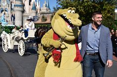 Tim Tebow Tapes Disney Parks Frozen Christmas Celebration TV Special