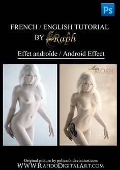 Android effet Free Photoshop tutorial by *Rafido on deviantART