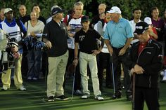 w/ Fred Couples